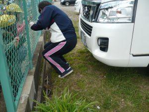 春の統一清掃(古川南DS)①