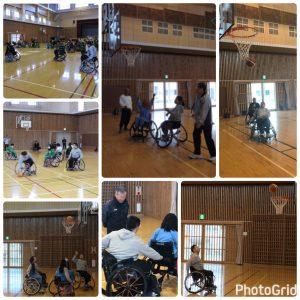 H29車椅子バスケ様子②(松山)