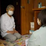 ひとり暮らし高齢者世帯へ見守り訪問しました。(松山支所)